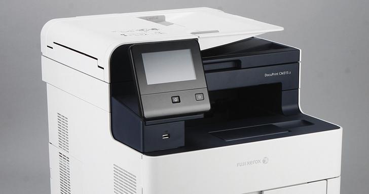 極致效率的商用S-LED彩色事務機!Fuji Xerox DocuPrint CM315 z