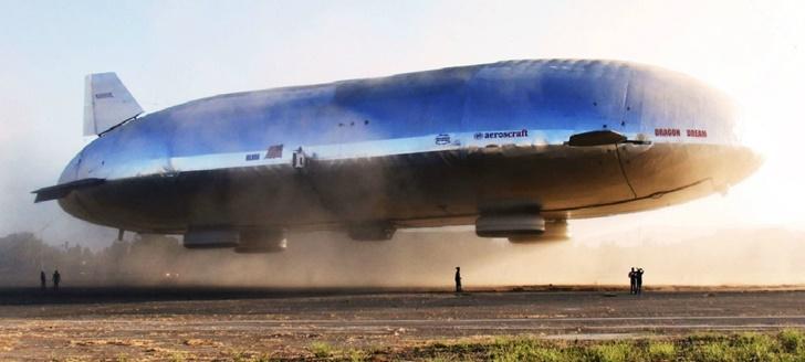 Google 創始人要造全球最大飛艇:斥資 1.5 億美元,比 3 架波音 777 還長