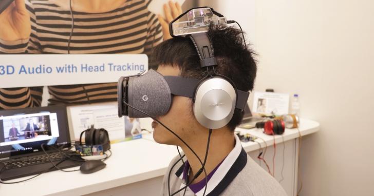 WNX7000 這個3D 音效晶片可以讓未來所有的立體聲耳機升級到7.1 聲道,轉頭還能「聽聲辨位」