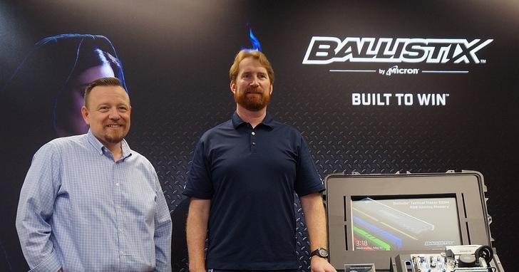 美光旗下品牌Ballistix 推出DDR4 發光記憶體以及瞄準舊電腦的固態硬碟升級方案
