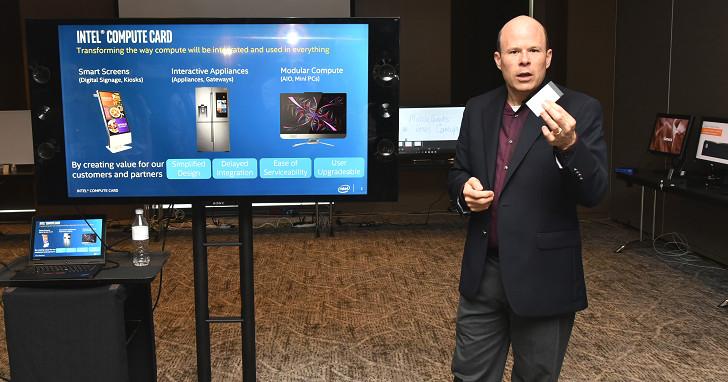 名片盒大小的模組化電腦,Intel Compute Card 將在 8 月出貨