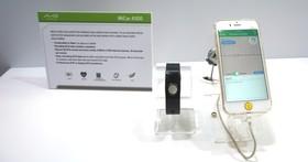 MiCor A100為首款通過認證的腕式心電圖(ECG)記錄器,可儲存30筆心電圖資訊