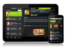 全新Tegra Zone App提供Tegra全面最佳化的行動娛樂