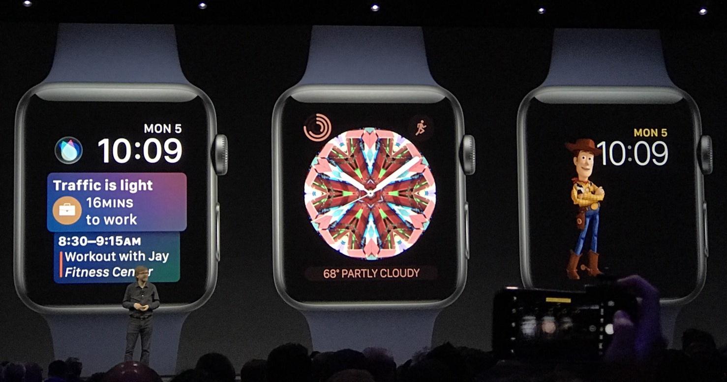 Watch OS 4 更新:加入胡迪巴斯光年錶面、可串聯運動器材資訊