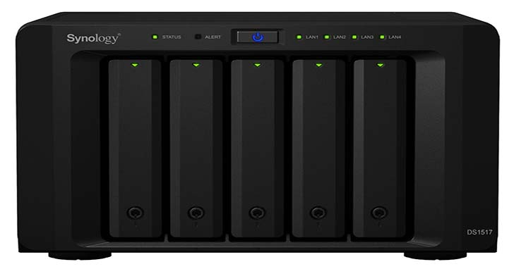 Synology 推出 DiskStation DS1517 及 DS1817