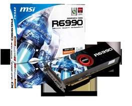 微星發表4GB超大容量記憶體的6990-4PD4GD5雙核心顯示卡王