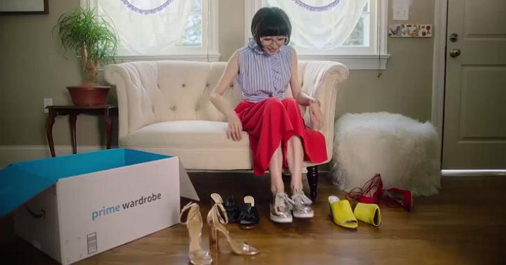 亞馬遜提供衣服免費試穿服務,挑滿三件衣服以上可免費試穿一週、不滿意可全部退回