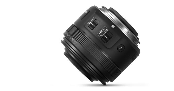 會發光的微距鏡,Canon EF-S 35mm f2.8 Macro IS STM 在台上市