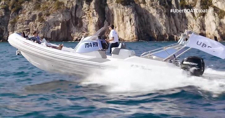 從陸地轉移陣地到海上,Uber 推出「UberBOAT」 快艇服務,12,000 元台幣就能在克羅埃西亞跑透透