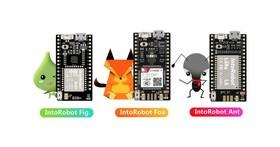 IntoRobot IoT開發板,支援LoRa提供遠端搖控功能
