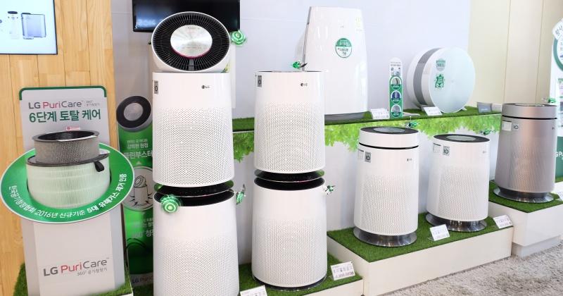 結合循環扇功能,LG 推出 360 度 PuriCare 空氣清淨機