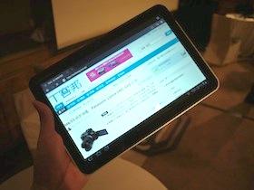 Android 3.0 第一彈, Motorola Xoom 動手玩