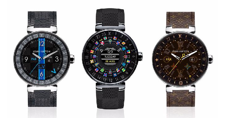 LV 推智慧手錶,搭載 Android Wear 2.0、獨家 app,81,000 元起跳