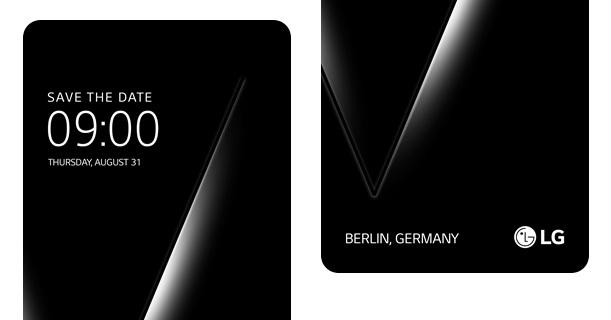 LG 寄出邀請函,V30 即將於 8/31 發表