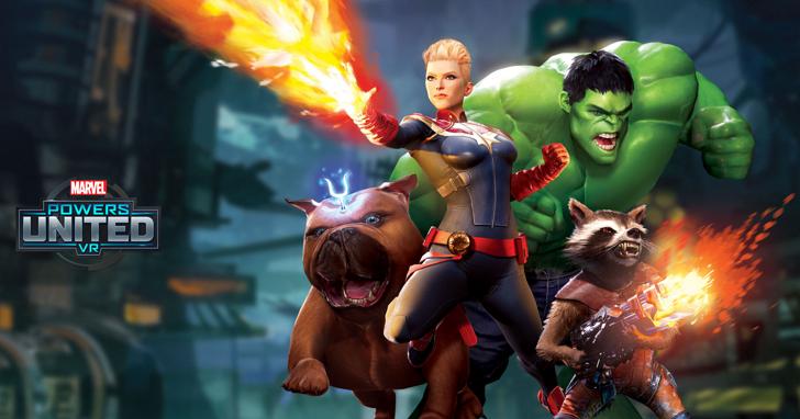 一圓你的英雄夢,迪士尼推漫威 VR 遊戲 Marvel Powers United VR