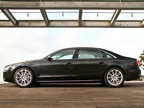 在房車中享受遊艇般的奢華:奧迪 Audi A8L 4.2