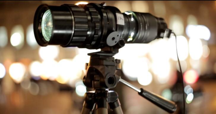 Visio把你的相機鏡頭變成投影機,還可用於拍攝文青風格照