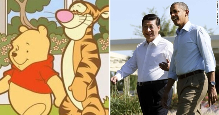 「小熊維尼」成為中國微博、WeChat搜尋的敏感詞,只因為它長得太像這個人
