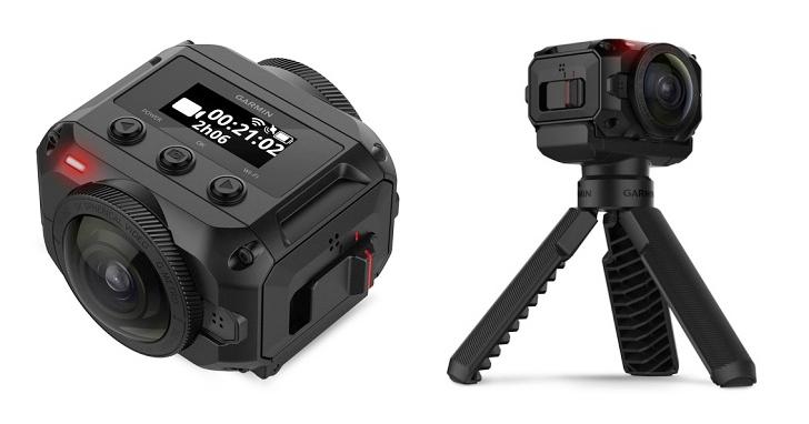 錄影畫質超越 4K,Garmin 全景相機 VIRB 360 上市,售價 25,900 元