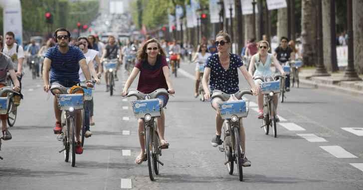 除了中國與新加坡之外,其他國家的共享單車是怎麼樣設計的?