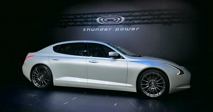台灣版特斯拉?國產電動車 Thunder Power 發表,售價 245 萬元起、豪華版台幣600萬元