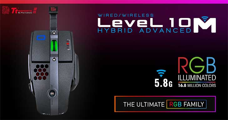 Level 10系列再出新作 曜越電競Tt eSPORTS全新成員