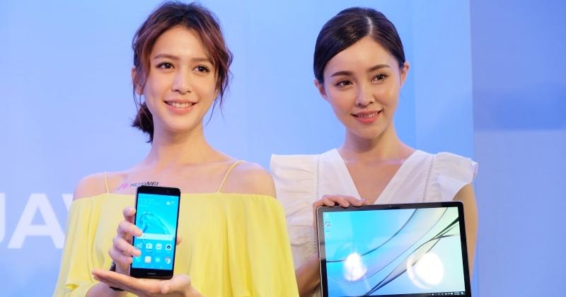 華為 P10 Plus 玫瑰金登場,大電量新機 Huawei Y7、通話平板 MediaPad T3 一同上市