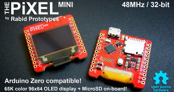 內建螢幕的開發板捲土再來,Pixel Mini尺寸更加迷你 | T客邦