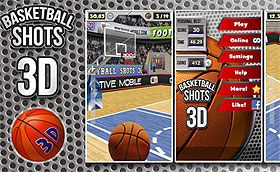 Android Market:三分射手!BASKETBALL SHOTS 3D