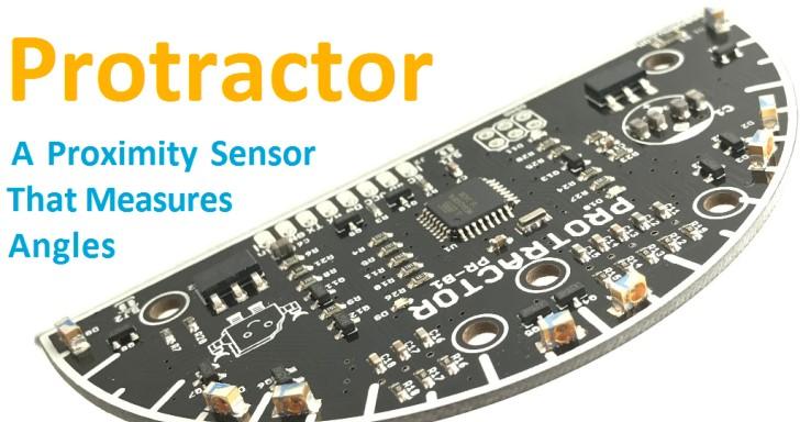 Protractor量角器,讓你的機器人可以追蹤多個外部物體