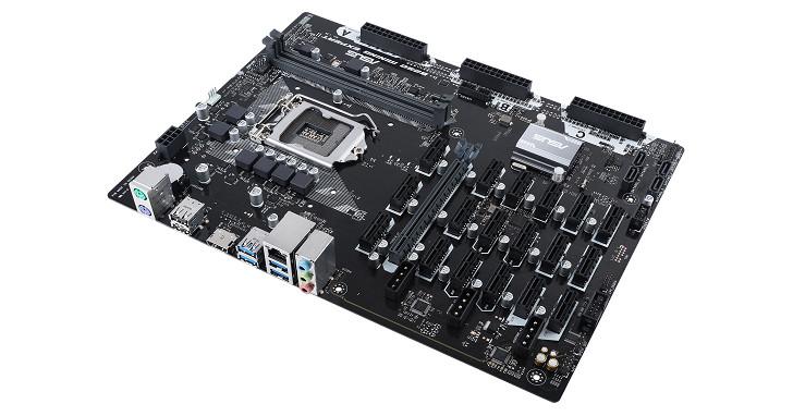 支援 19 張顯示卡,Asus 推出挖擴主機板 B250 Mining Expert