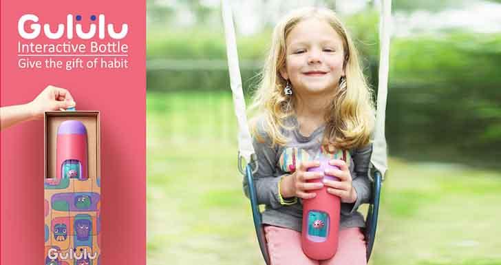開學季 好物必搜!  台灣之光!美國熱銷Gululu互動智能水壺3D版將登台 讓孩子愛上喝水
