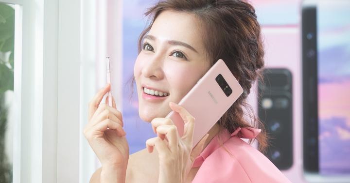 三星 Galaxy Note 8 星沙粉圖集,台灣列首波上市名單
