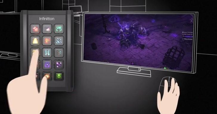 向Razer Switchblade UI致敬,Infinitton鍵盤也有可程式化智慧按鍵