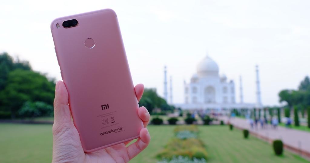 小米 A1 雙鏡頭手機 印度 泰姬瑪哈陵實拍測試!