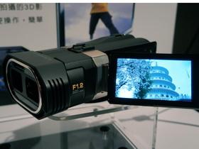 瓦力來了?JVC 3D 攝錄影機 GS-TD1