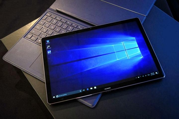 華為二合一筆電 Matebook E 簡單動手玩,超輕量機身移動性更高