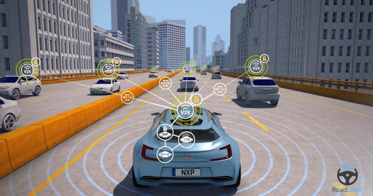 NXP推出全球第一款可擴展單晶片V2X平台,讓車輛能與外界裝置通訊