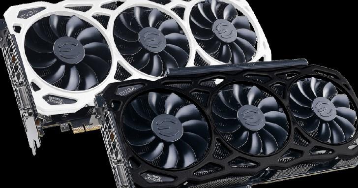 換裝 12GHz 等效時脈 GDDR5X,EVGA 推出 GeForce GTX 1080 Ti FTW3 Elite