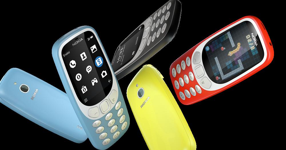 3G 版的 Nokia 3310 要來了,想收藏經典可準備下手