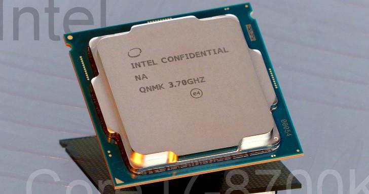 Core 系列多 2 個核心,Coffee Lake-S 桌上型 Core i7-8700K 釋疑實測