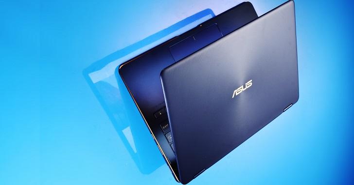 Asus ZenBook Flip S  評測:螢幕 360° 翻轉的 1 公斤筆電,也是二合一平板