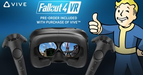買 HTC VIVE 送 異塵餘生 4 VR,預計 12 月正式上線