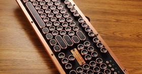 AZIO Retro Classic Artisan- 以打字機為靈魂的精品機械鍵盤