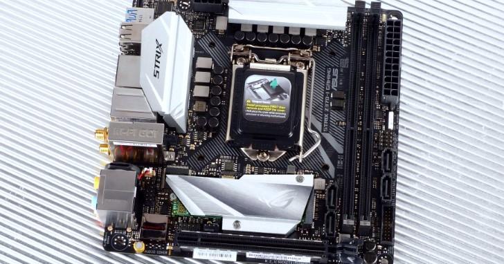 主流市場電競遊戲小板,Asus ROG STRIX Z370-I GAMING 實測