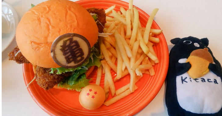 漢堡也玩COSPLAY!日本餐廳推出9款漫畫主題漢堡,從七龍珠到北斗神拳通通有