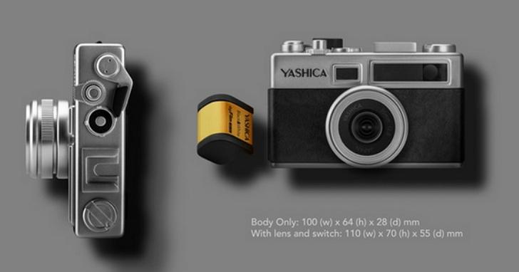 Yashica推出了一款「數位底片」相機:拍照要裝SD卡以及數位底片,它到底是數位相機還是底片機?