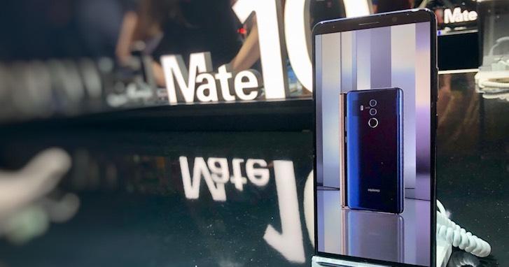 華為 Mate 10 及 Mate 10 Pro 一秒變電腦,同場加映 360 相機及快充行動電源