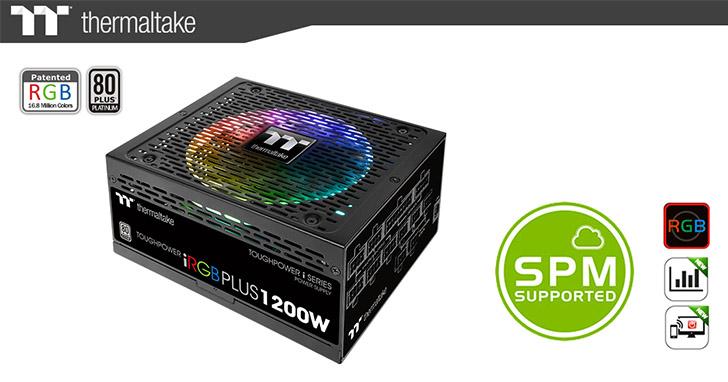 曜越推出TT Premium頂級版 Toughpower iRGB Plus白金牌系列電源供應器 1680萬色搭配7種燈光模式 變化無極限
