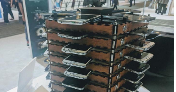 舊手機能幹嘛?三星用 40 部 Galaxy S5 組成挖礦機